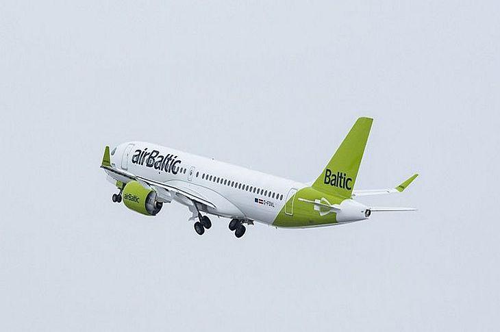 Юбилейный сотый Airbus А220 собран и поступит в парк airBaltic