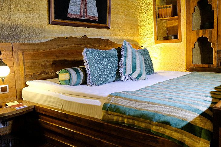 Спальня в номере отеля Kayakapi Premium Caves