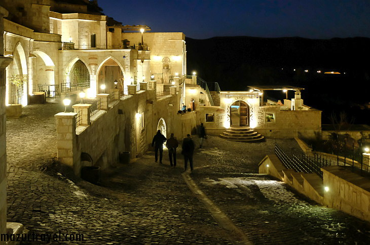Отель в пещере Kayakapi Premium Caves-Cappadocia или luxury  в недрах Каппадокии