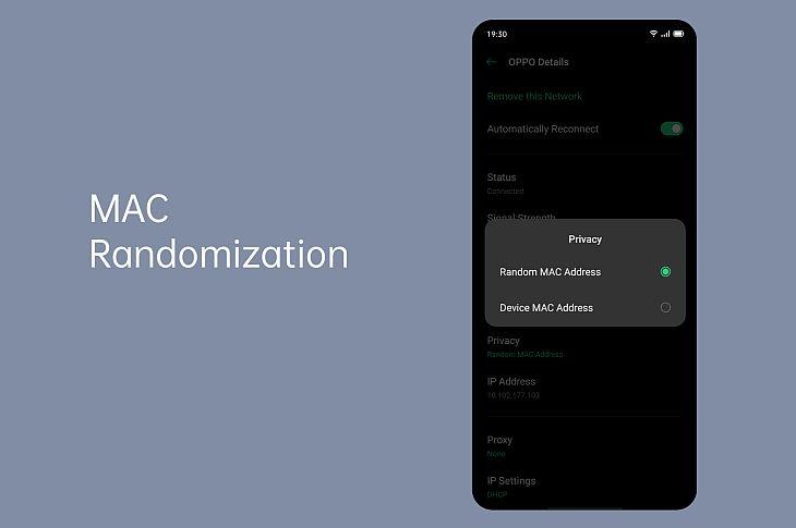 MAC рандомизация
