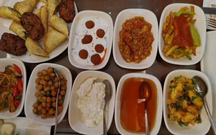 Поесть в Газиантепе турецкий завтрак
