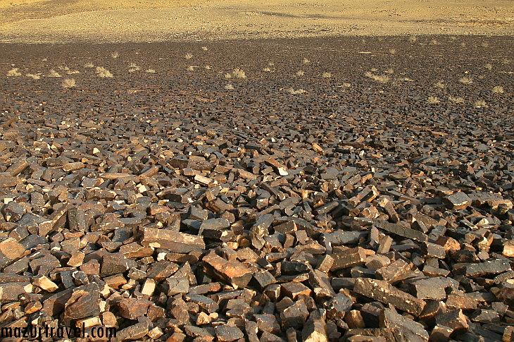 Минсара в кратере Рамон