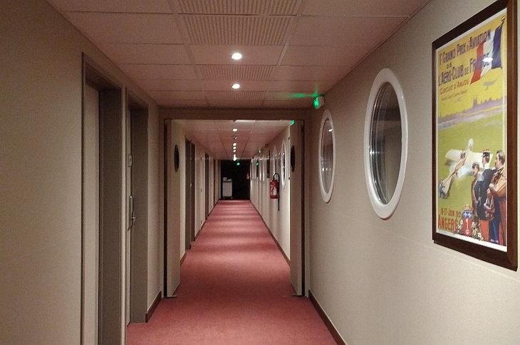 Коридор отеля Le Cap (Inter Hotel)