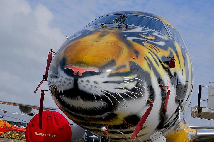 "Embraer E190 E2 ""Тигр"""