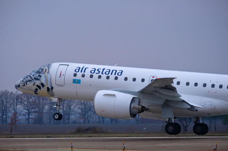 """Снежный барс"" Air Astana"