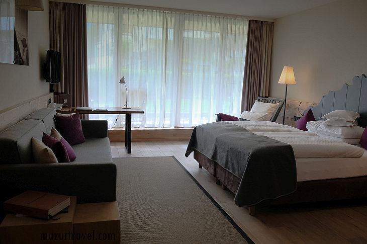 номер в отеле Bergland
