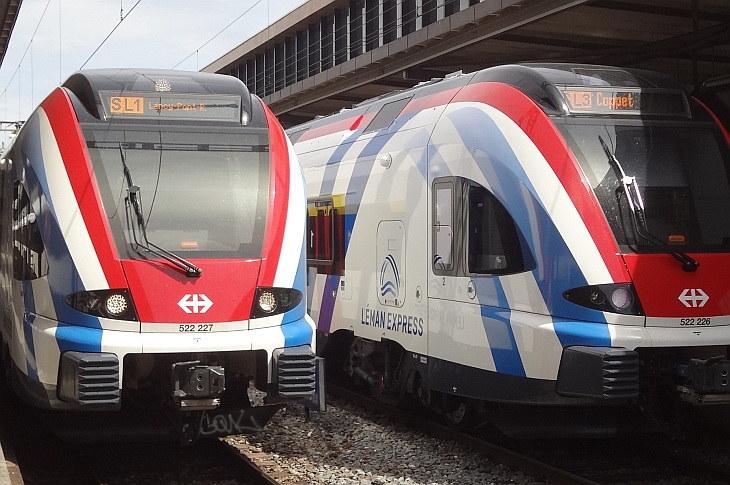 метро Léman Express