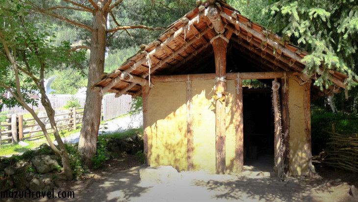 В музее Otzi Dorf