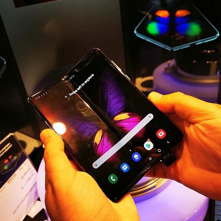 гибкий экран Galaxy Fold