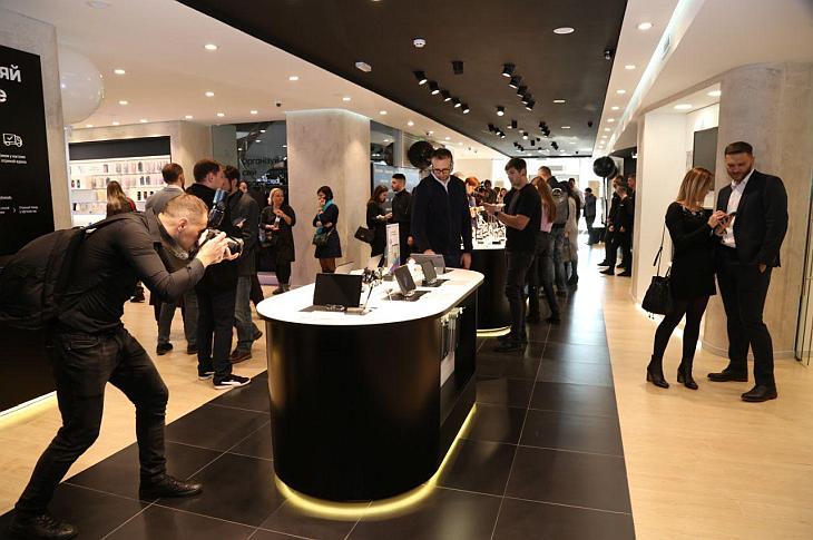 В киевском Samsung Experience Store