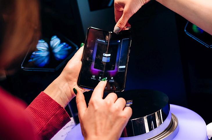 Презентация Samsung Galaxy Fold  в Украине