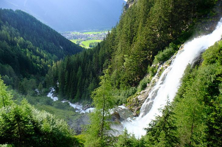 Водопад Штубенфаль — самый высокий в Тироле