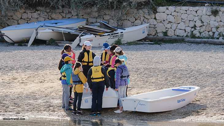 Морская школа на Фриульских островах
