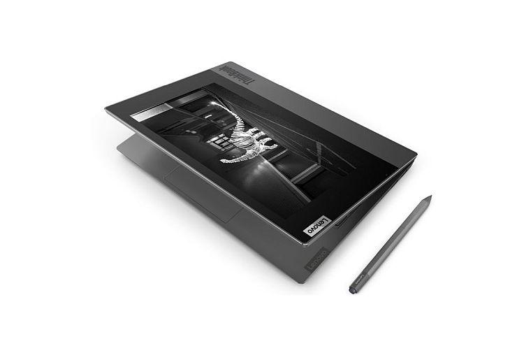 Ноутбук с дополнительным экраном ThinkBook Plus представлен Lenovo