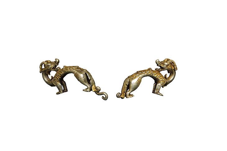 Серебряные драконы из Монголии