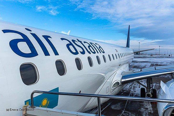 Рейсы Алматы-Мумбаи авиакомпании Air Astana отложены