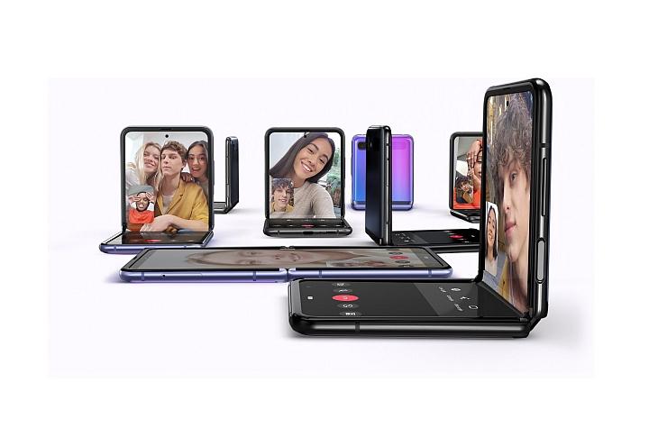 смартфон с дисплеем из гибкого стекла