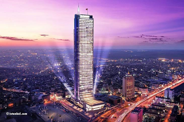 Смотровая площадка на небоскребе Istanbul Sapphire