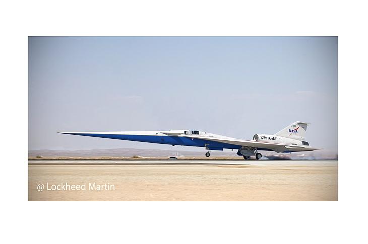 Сверхзвуковой самолет X-59 построят к концу 2020 г.