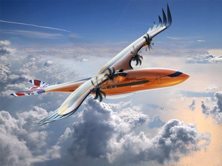 концептуальный авиалайнер Airbus Bird of Prey