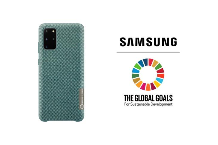Новые аксессуары Samsung Global Goals edition сохраняют планету