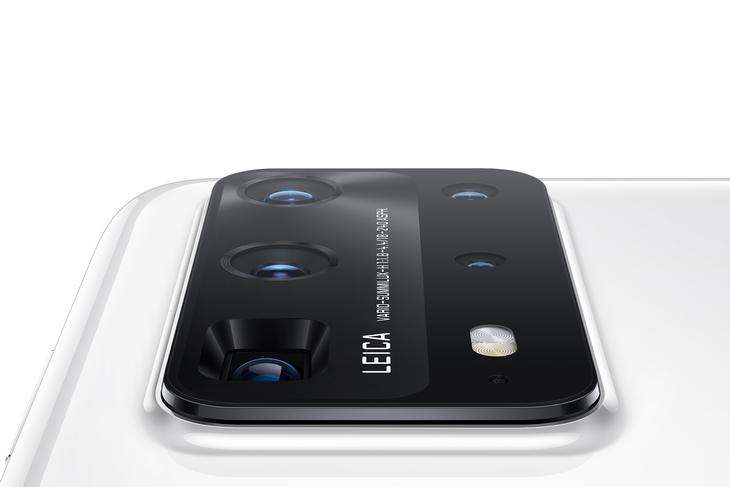 Смартфоны P40 Pro+ - вид на камеры