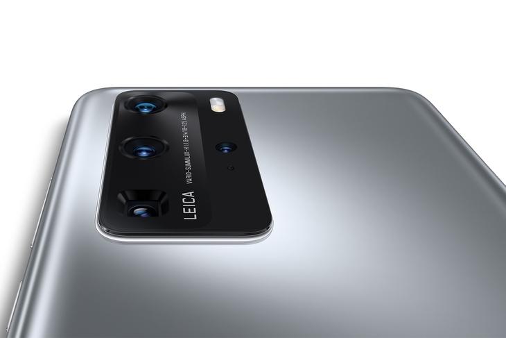 Смартфоны P40 Pro - вид на камеры