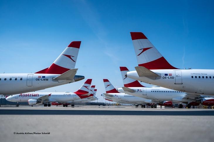 Austrian Airlines сокращает флот