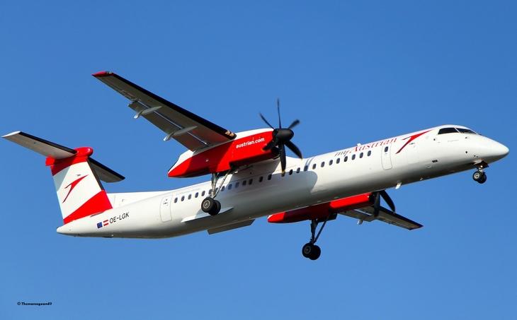 Austrian Airlines сокращает Bombardier Q400
