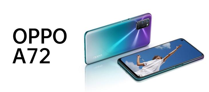 Смартфоны Oppo A 72