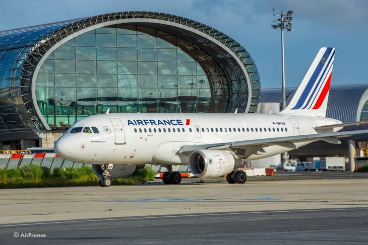 Авиакомпания Air France вводит контроль температуры тела пассажиров