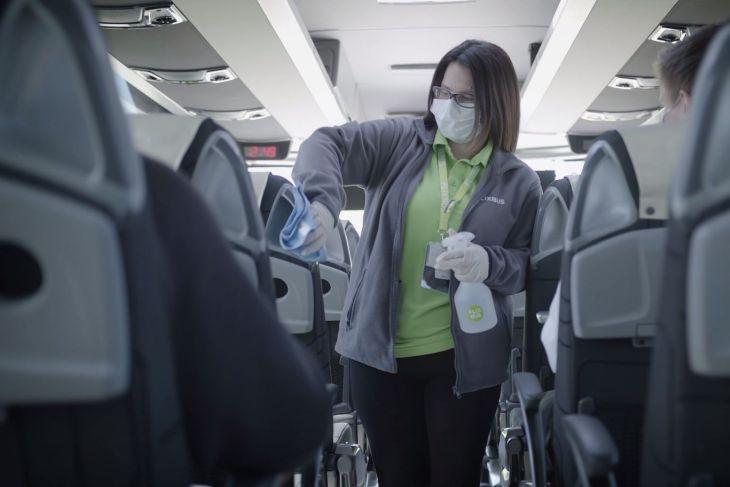 Дополнительные меры безопасности автобусах FlixBus
