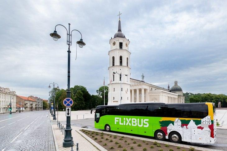 FlixBus из Киева теперь везет в Прагу и Вильнюс