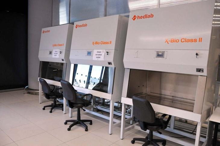 Аэропорт Стамбул - отбор проб на коронавирус