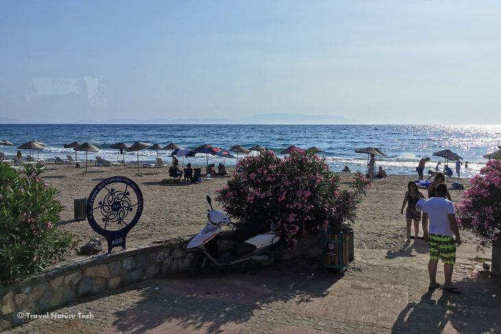 Пляж Пигале в Кушадасы