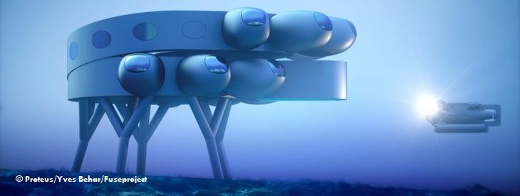 МКС под водой