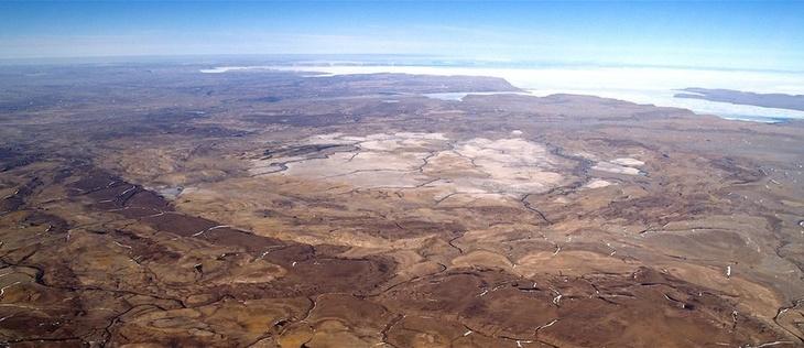 Марс на Земле -кратер Хотон
