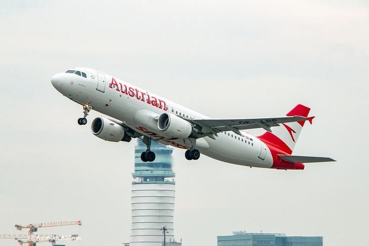 Перебронировать билеты Austrian Airlines можно без комиссии