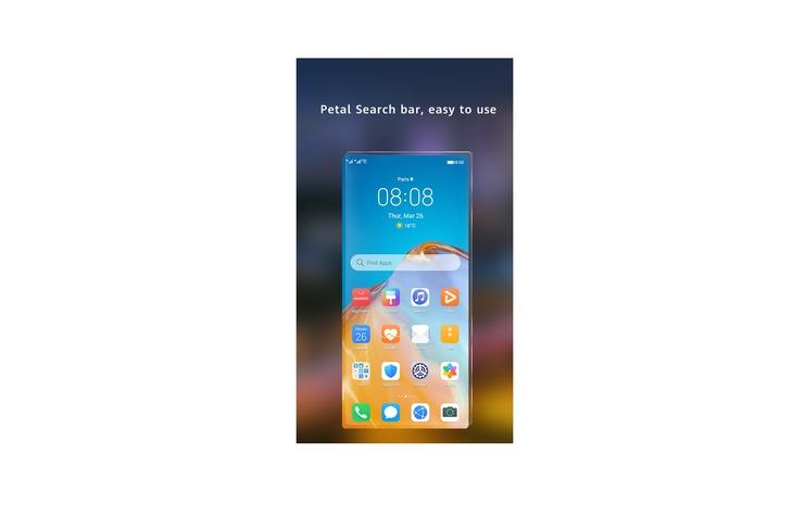 Виджет Huawei Petal