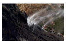 Водопад в Австралии потек вспять