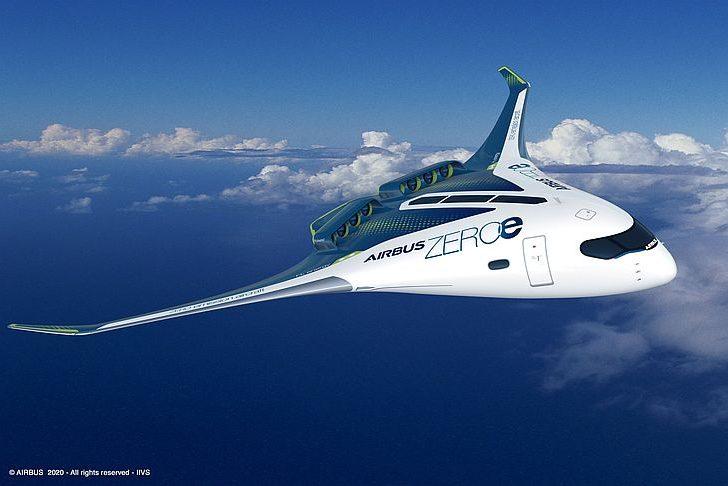 Самолет интегрированным фюзеляжем