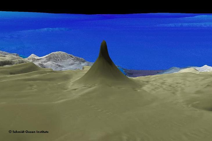 Коралловый риф-башня найден возле Австралии