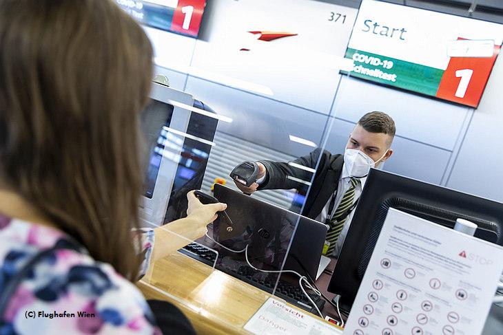 Austrian Airlines и аэропорт Вены проверяют экспресс-тест на антиген Covid-19