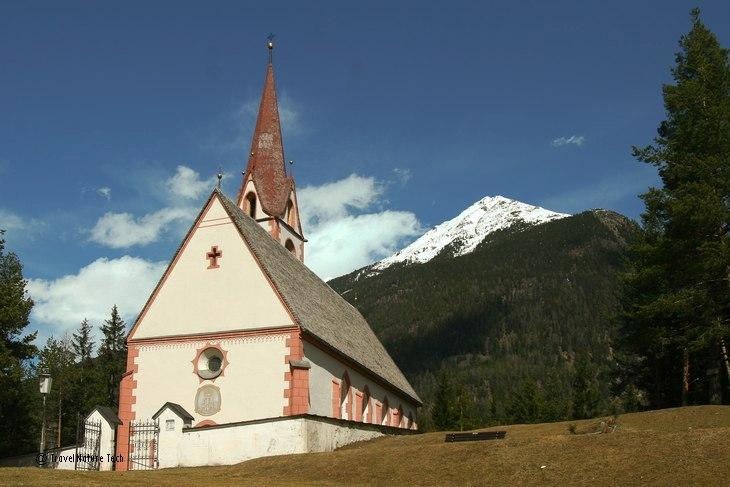 Чумная церковь в Эцтале