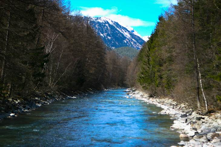 Река Ахе в Эцтале