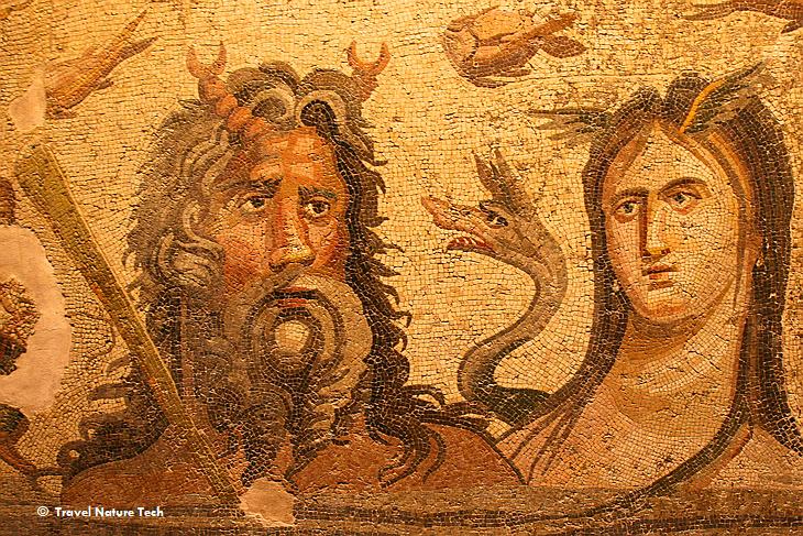 Зеугма – «месторождение» античных мозаик
