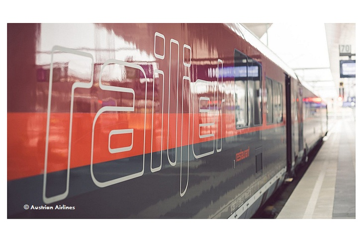 Вена-Грац — сервис AIRail дополнит рейсы Austrian Airlines