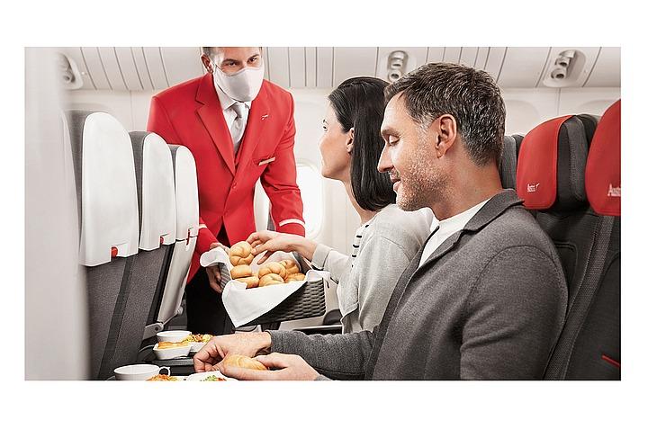 Питание Austrian Airlines станет платным