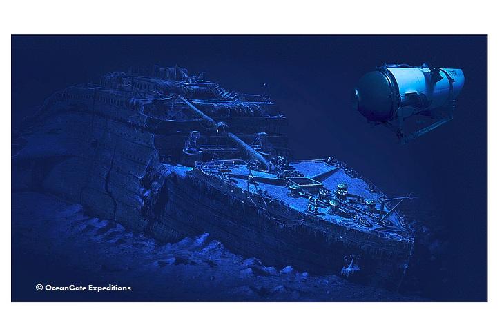 """Погружение на""""Титаник"""""""