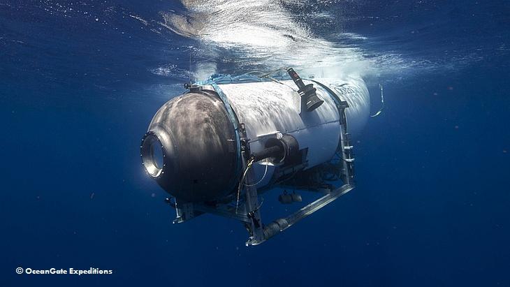 Подводный аппарат Titan